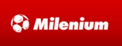 logo zakładów bukmacherskich milenium
