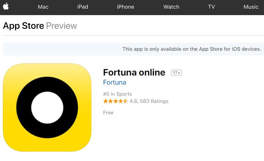 Fortuna opinie aplikacja