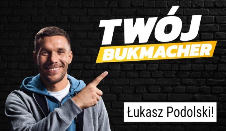 Lukas Podolski ambasadorem bukmachera totolotek